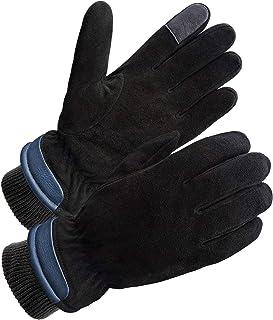 SKYDEER Premium Genuine Deerskin Suede Leather Winter Gloves (SD8651T)