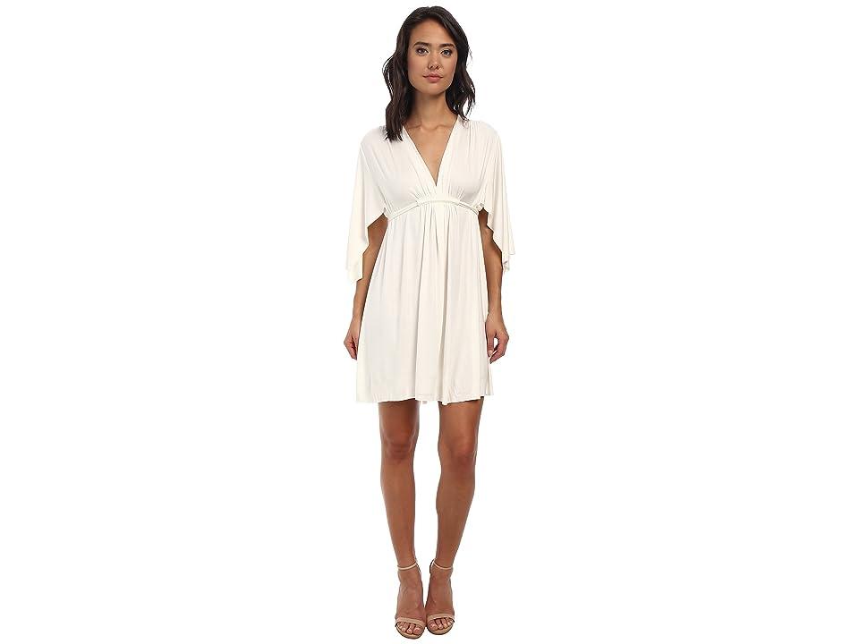 Rachel Pally Mini Caftan Dress (White 2) Women