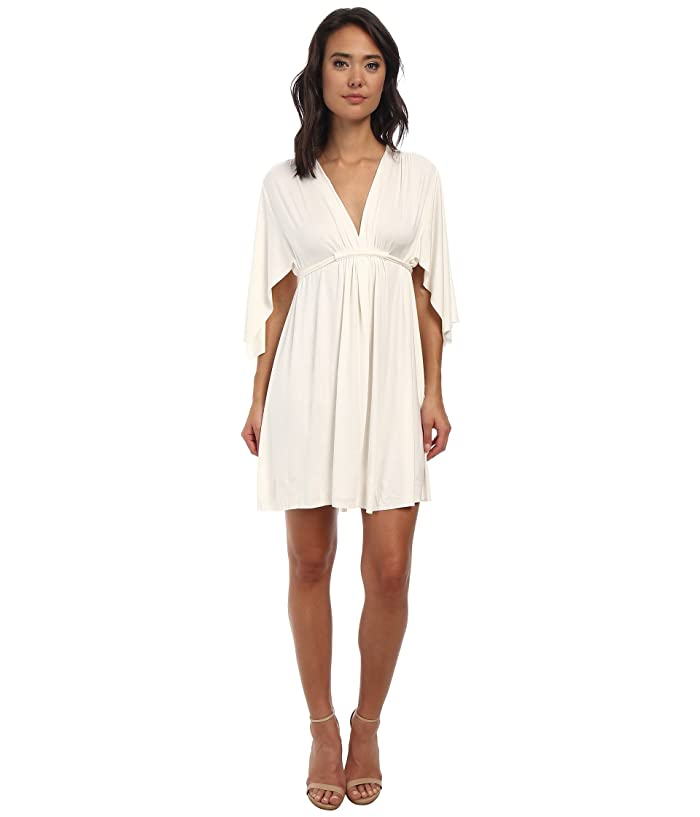 Rachel Pally Mini Caftan Dress (White 2) Women's Dress