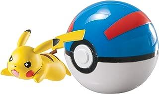 Pokémon Clip 'N' Carry Poké Ball, Pikachu and Great Ball