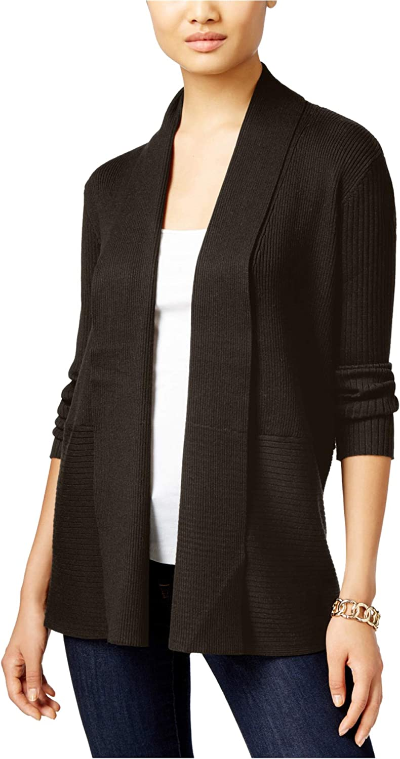 JM Collection Womens Duster Cardigan Sweater