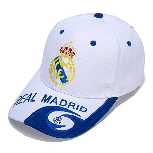 85174407f90 DanielFelix Real Madrid F.C. -Embroidered Authentic EPL Adjustable White  Baseball Cap