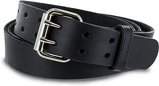 Hanks Legend - Men's Double Prong Leather Belt - Heavy Duty Belts - USA Made - 100 Year Warranty