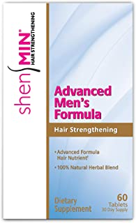 Shen Min Advanced Hair Strengthening Formula for Men, Tablets, 60 Count