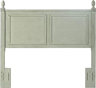 Crosley Furniture Bourdeaux Wood Headboard, King, Sage