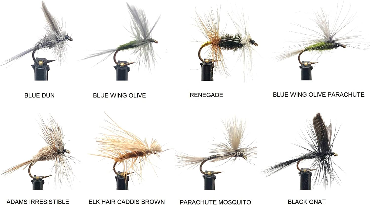 Feeder Creek Fly Fishing Assortment 24 8 Patterns Flies Price reduction New color in Dry