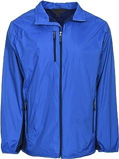 Men's Lightweight Nylon Windbreaker Lined Wind & Water Resistant Jacket