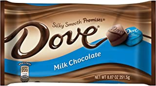 DOVE PROMISES Milk Chocolate Candy 8.87-Ounce Bag (Pack of 12)
