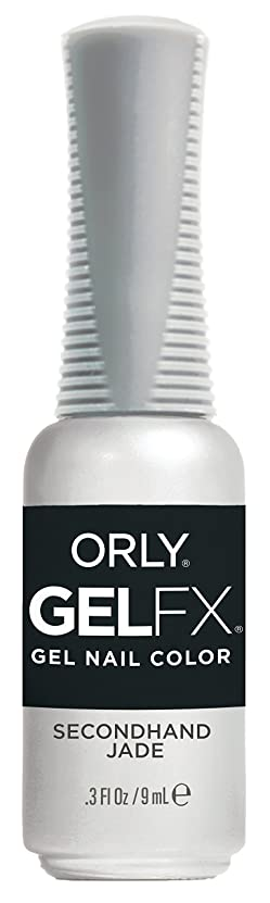 見捨てられたブルジョンシプリーOrly Gel FX - Darlings of Defiance Collection - Secondhand Jade - 0.3 oz / 9 mL