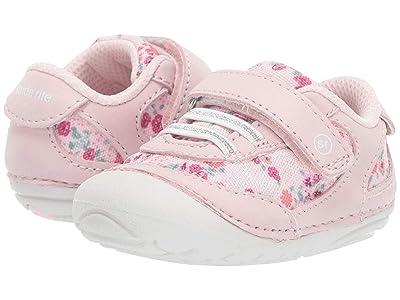 Stride Rite SM Jazzy (Infant/Toddler) (Pink Multi) Girl
