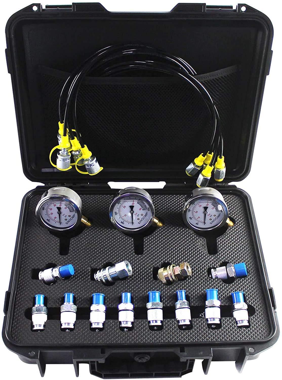 SINOCMP Louisville-Jefferson County Mall Hydraulic Test Kit 25 Gauges 40 Tulsa Mall 60mpa Pressure