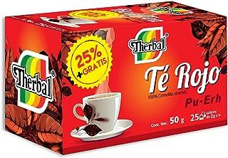 Therbal Té Rojo Pu Erh,  25 sobres