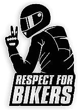 Aufkleber Respect for Biker