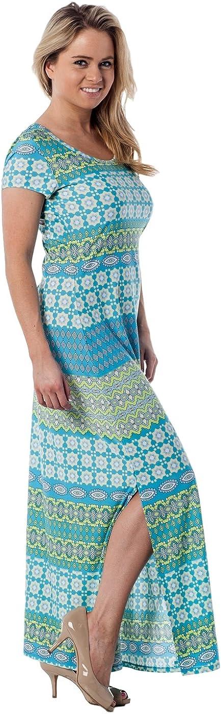 Max 80% OFF Alki'i Women's Short Sleeve Free Shipping New Floor Maxi Dress Length