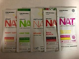 Pruvit Keto NAT caffeine free Ketones Packet 5 VARIOUS FLAVOR Mixed