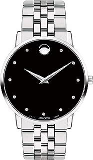 Museum, Stainless Steel Case, Black Dial, Stainless Steel Bracelet, Men, 0607201