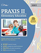 Praxis II Elementary Education Multiple Subjects (5001): Study Guide with Practice Test Questions