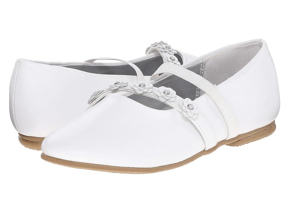 Jumping Jacks Kids Balleto Charm (Toddler/Little Kid/Big Kid) (White) Girls Shoes