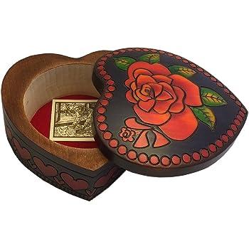 Chalice Box Polish Linden Wood Keepsake Handmade Jewelry Box CORNELL 7856