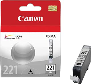 Canon CLI-221GY Dye Ink Cartridge, Gray - in Retail Packaging