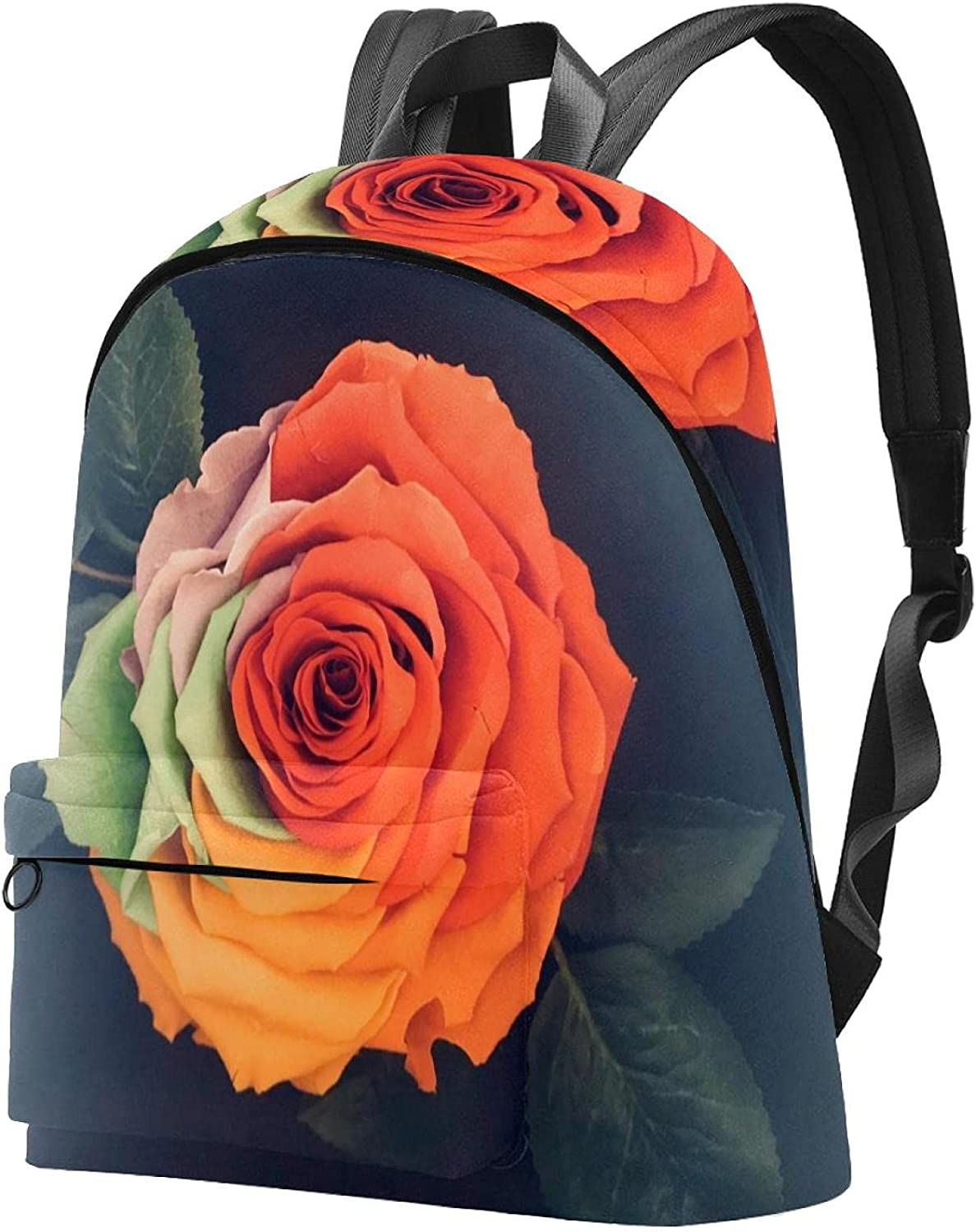 Travel Backpack Laptop Albuquerque Mall Large specialty shop School Bag rainbow ar rose
