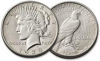 1935 S Peace Silver Dollar $1 Very Fine