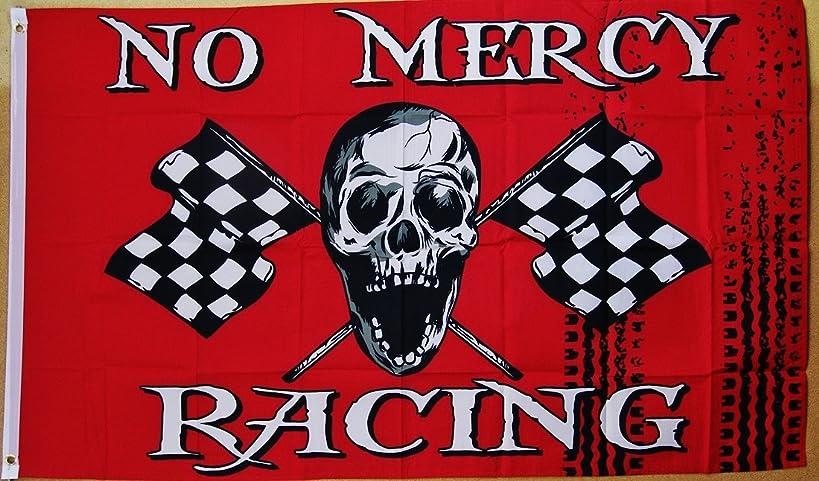 No Mercy Racing Flag 3' X 5' Indoor Outdoor Pirate Banner