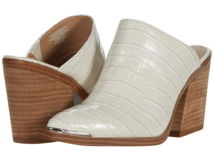 Steve Madden  Alanna Mule (Bone Croco) Womens Shoes