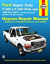 Ford Super Duty Pick-up & Excursion for Ford Super Duty F-250 & F-350 Pick-ups & Excursion (99-10) Haynes Repair Manual (Does not include F-450 or F-550 models)