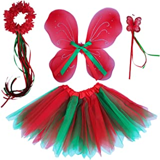 Princess Costume Birthday Party Fancy Dress Up for Girls with Accessories 2-8 Years