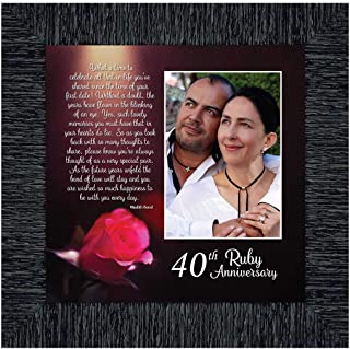 Best 40th ruby anniversary Reviews