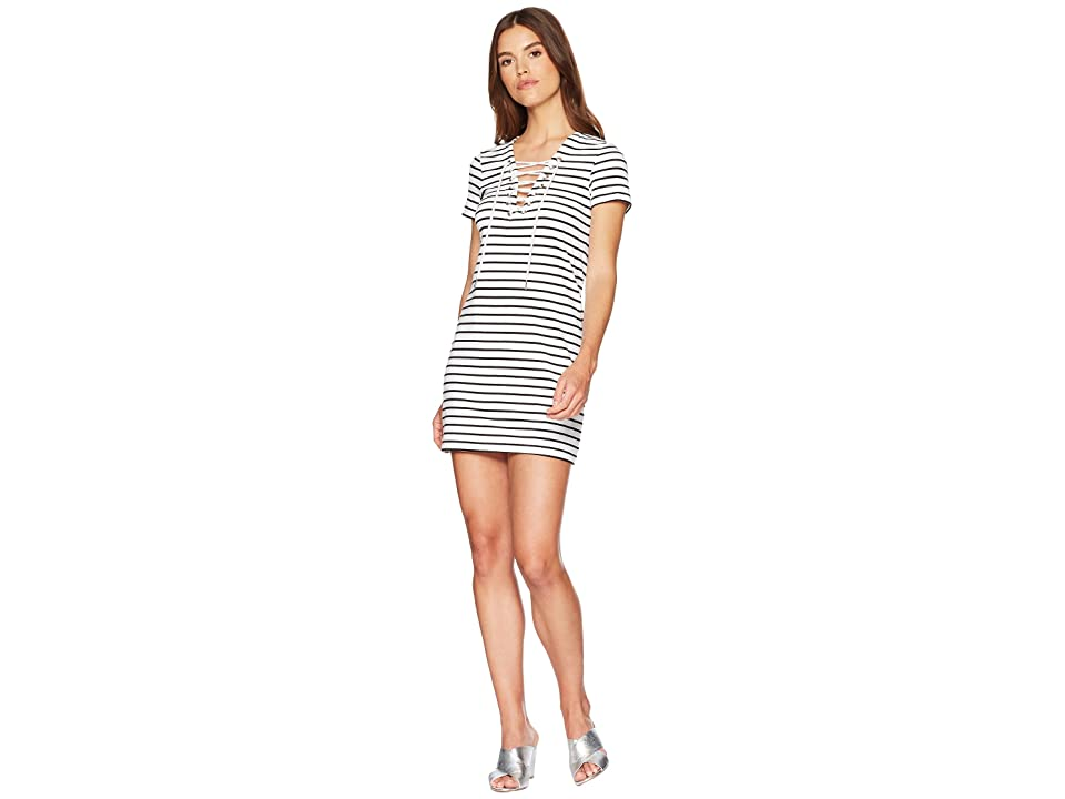 Bardot Stripe Swing Dress (Bwstripe) Women