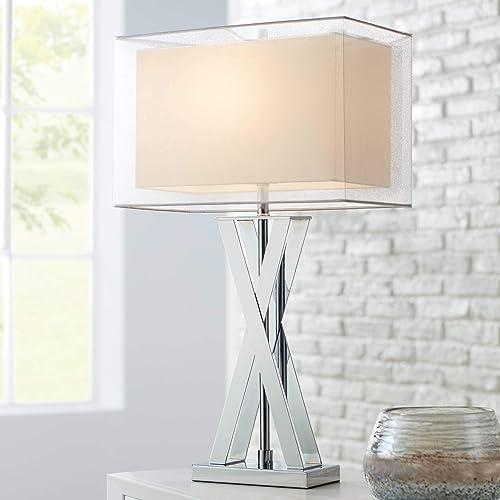 Chrome Table Lamps Amazon Com