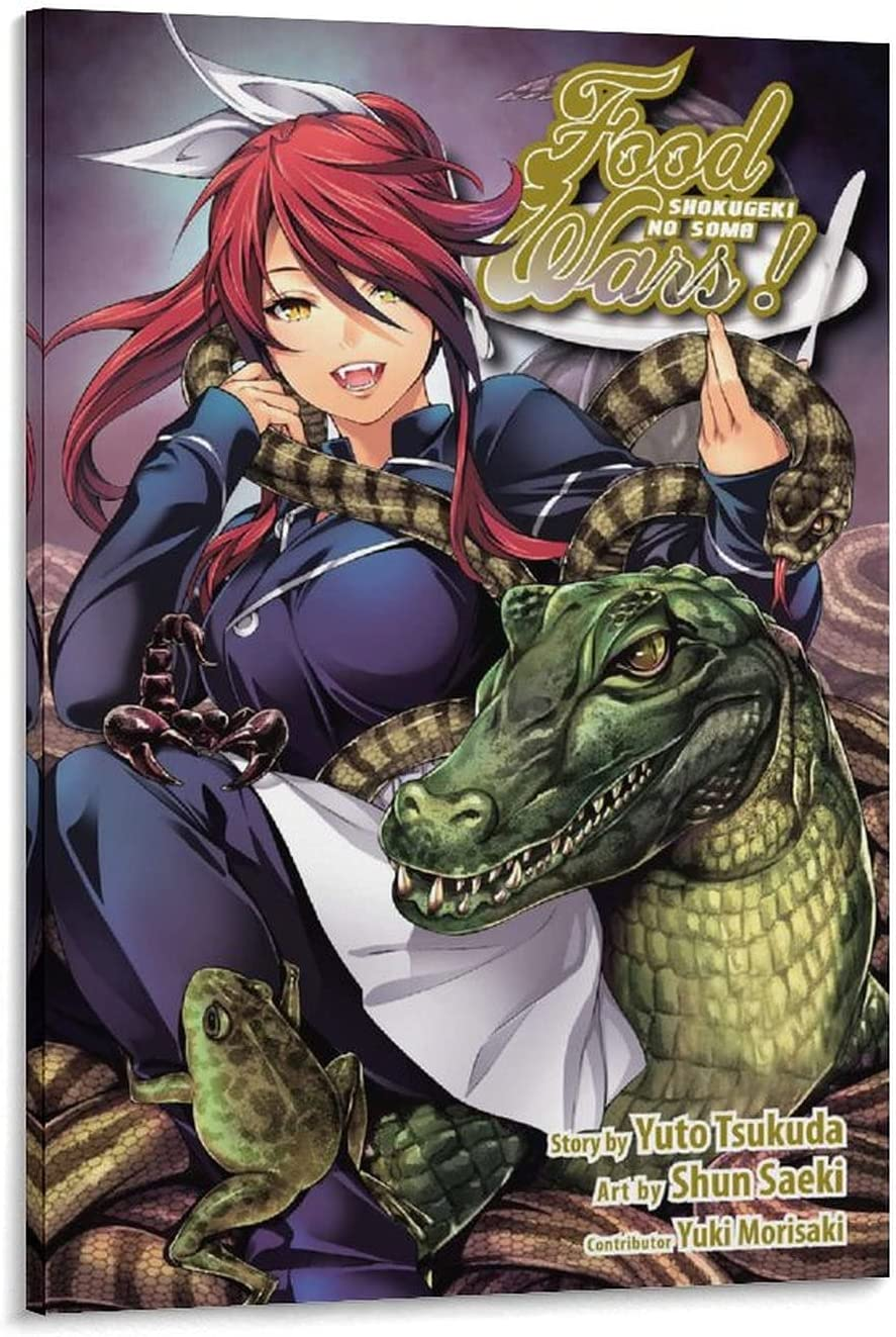 Ranking TOP6 WLHSIN Anime Shokugeki No Limited Special Price Soma Poster 16 Creative Canva Printing