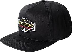 Factory Effex Official Rockstar Emblem Mens Snapback Hats Black