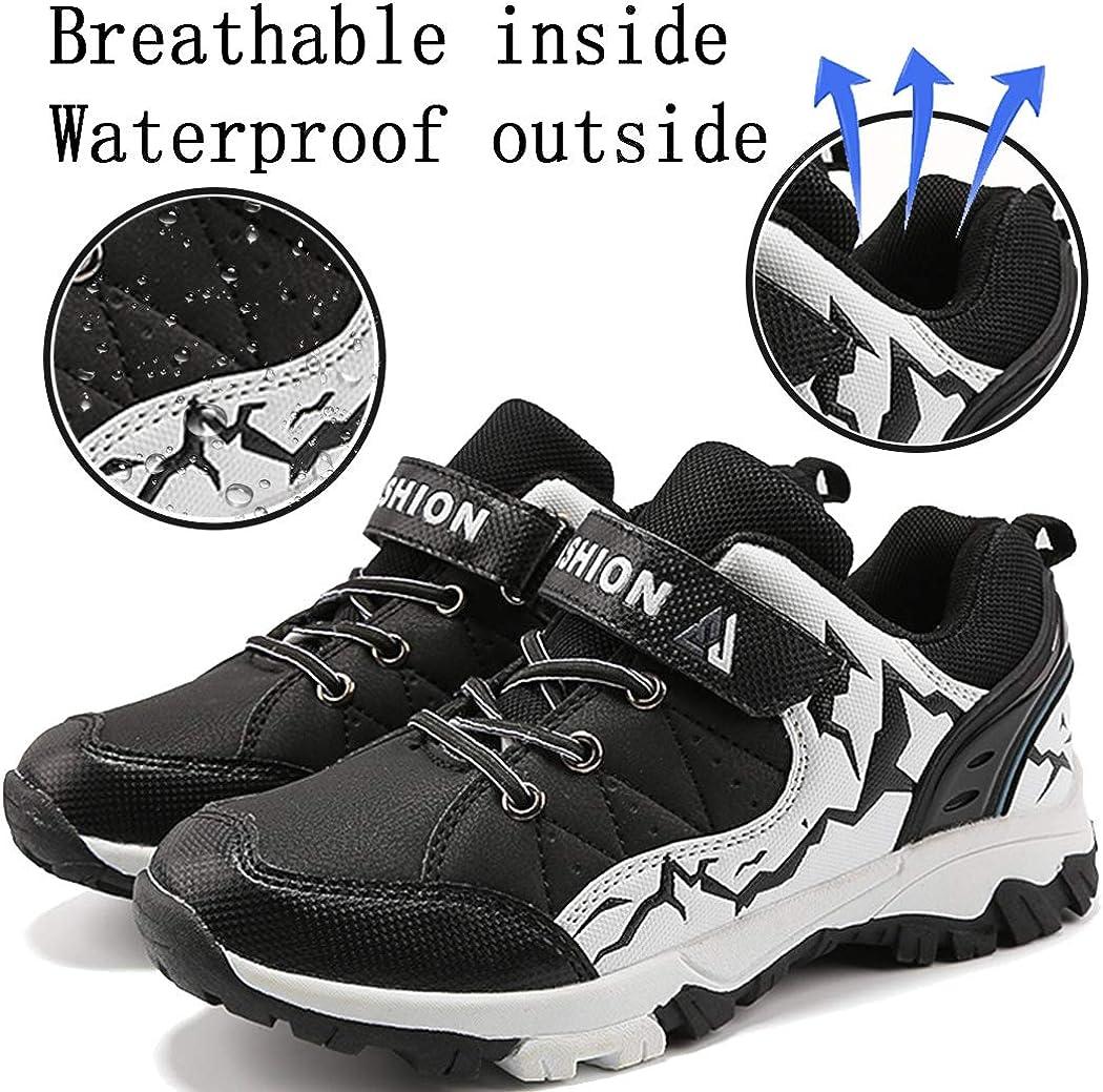 Lvptsh Baskets Enfant Chaussures de Sport Gar/çon Chaussures Montagne de Randonn/ée Running Chaussures de Plein Fille Antid/érapant