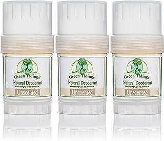 Sponsored Ad - Green Tidings Natural & Unscented Deodorant   Vegan, Organic Deodorant for Men and Women, Fragrance Free & ...