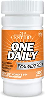 21st Century One Daily Women's 50+ Tablets, 100-Count