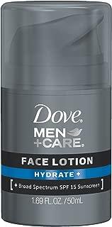 Dove Men+Care Face Lotion, Hydrate Plus 1.69 Ounce