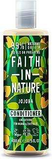 Faith in Nature Acondicionador Natural de Jojoba Suavizante Vegano y No Testado en Animales sin Parabenos ni SLS para ...