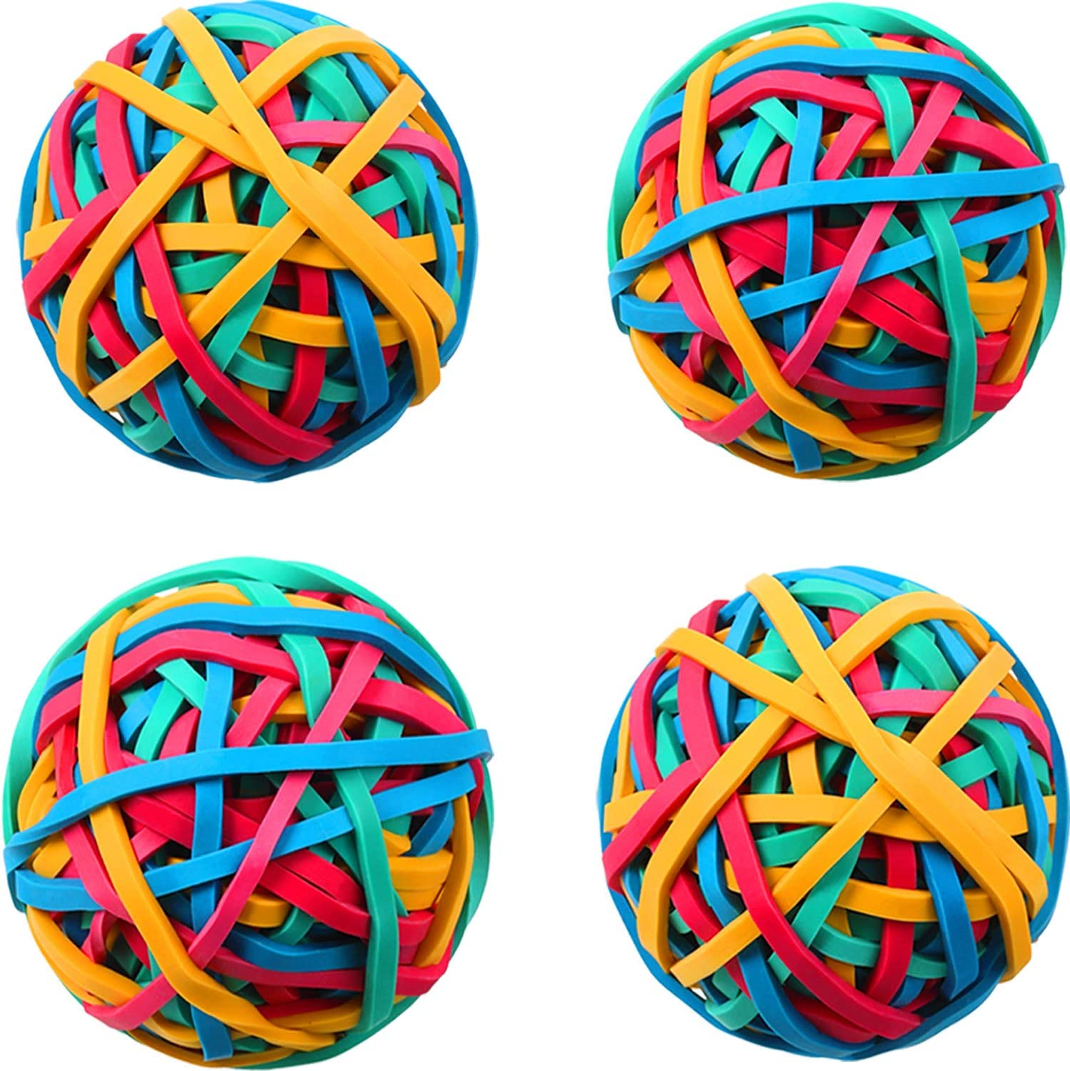Fresno Mall Raleigh Mall 4 Roll Rubber Band Elastic About Colorful Ball Pieces 400