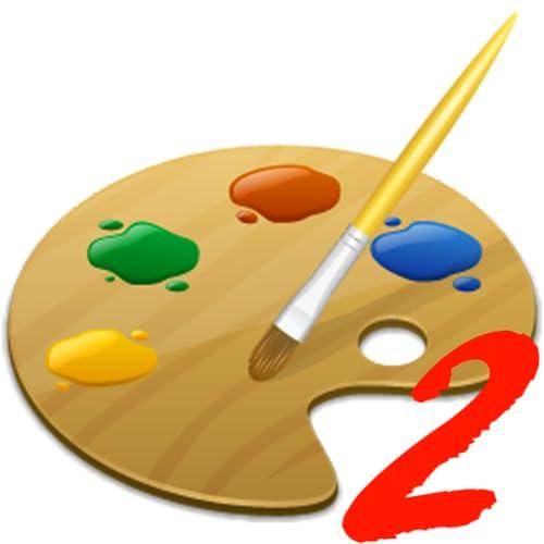 Malvorlagen 2 für Kinder - lustige und lehrreiche Färbung Lernspiel für Vorschulkindergarten oder Kleinkinder, Jungen und Mädchen jeden Alters