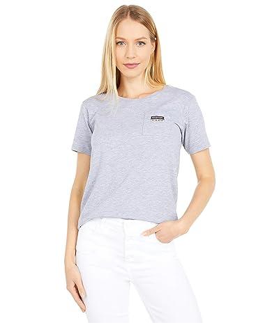Burton Classic Short Sleeve Pocket T-Shirt (Gray Heather) Women