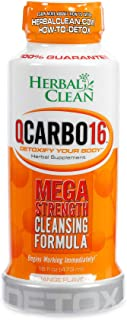 Herbal Clean Same-Day Premium Detox Drink, Orange Flavor, 16 Fl Oz