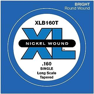 D'Addario XLB160T. Cuerda suelta para bajo de entorchado de níquel, escala larga.160. Cónica