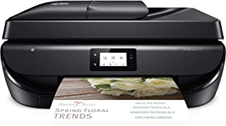 HP OfficeJet 5255 Wireless All-in-One Printer Compatible with HP Instant Ink and Amazon Dash (M2U75A) Black (Renewed)