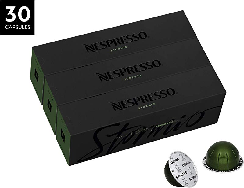 Nespresso VertuoLine Coffee Stormio 30 Capsules