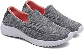 ASIAN Women's Angel-05 Knitted Shoes Sneakers,Ultra-Lightweight,Walking,Sneakers,Loafers,Running Shoes