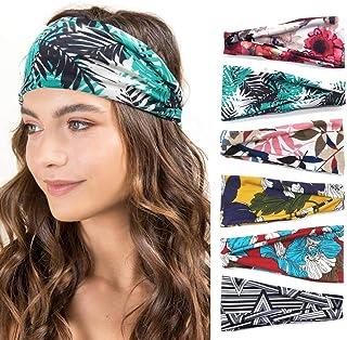 Women Headbands Workout Hair Band Girls Floral Style Bandana Yoga Running Boho Head Wrap Accessories Gifts