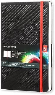 Moleskine Adobe Hard Cover Smart Notebook, Plain, Large (5